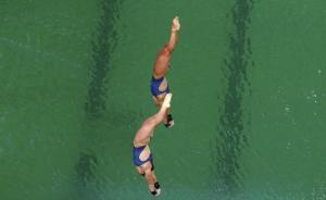 里约奥组委:碱度剧变致跳水池变绿,不会影响运动员健康