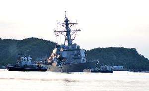 日媒:美驱逐舰与菲律宾货船相撞事件中失踪的7名美军已死亡
