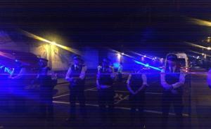 伦敦一汽车冲入人群致多人伤亡,警方逮捕一名嫌疑人