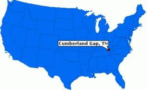路上的美国史︱上帝的开凿、西进运动的起点:坎伯兰隘口