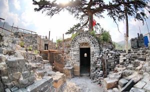 万里长城沿线保存最完整点将台开始修缮,位于河北秦皇岛