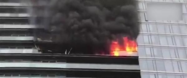 杭州千万豪宅突发大火:保姆从专用通道逃生,东家母子4人亡