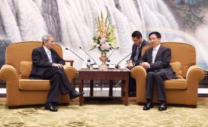 韩正会见古共代表团:上海愿为加深两党两国友谊作出更大贡献