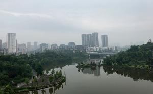 """【共舞长江经济带】""""深绿""""璧山:走15分钟就有绿地公园"""