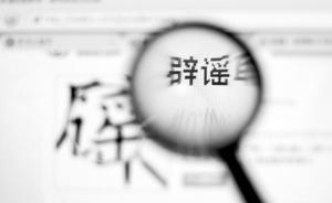 """湖南宁乡县坝塘镇政府:""""袁家河大堤已垮塌""""系谣言"""
