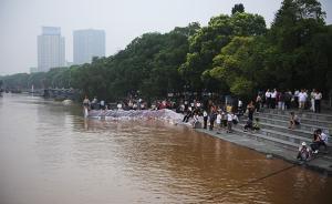 湘江长沙站水位39.22米,超过历史最高的1998年水位