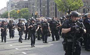 美媒:美国警察上半年射杀492人,高出官方记录一倍