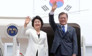 文在寅结束访美回国,韩美发表联合声明但未谈妥自贸协定