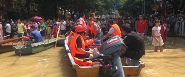 广西5市13个县区遭遇洪涝灾害,受灾人口超18万