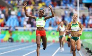 埃塞俄比亚女将夺田径首金,破王军霞创造的万米世界纪录