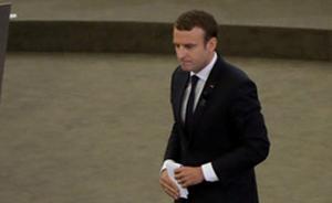 外媒:一男子涉嫌策划在法国国庆日刺杀总统马克龙遭逮捕