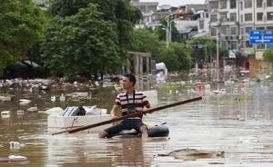 南方强降雨已致八省份近千万人受灾,直接经济损失近189亿