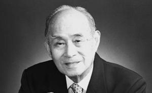 中国科学院院士、著名能源动力科学家陈学俊逝世,享年99岁
