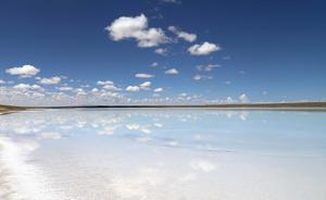 上游失去部分储水功能,可可西里盐湖面积仍持续扩大