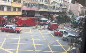香港发生路陷致4名工人坠入深坑,3人昏迷1人失踪