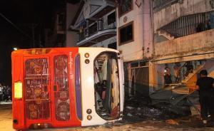 泰国再次发生载中国游客大巴侧翻事故,已致1死25伤