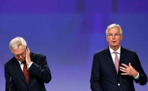 """英国与欧盟第二轮脱欧谈判,未就""""分手费""""议题达成一致"""