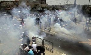 """耶路撒冷""""尊贵禁地""""危机升级,约旦多地爆发大规模反以游行"""