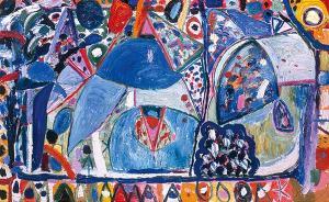 八旬吉莲·艾尔斯中国首展,讲述女性抽象画家的成长之路