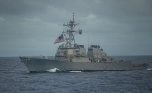美媒:中国海军在帮美国搜救南海丢的那个大兵