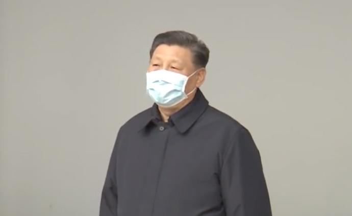 視頻丨習近平與武漢一線醫護工作者視頻連線,送去問候