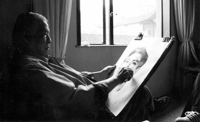 油画家廖炯模今晨辞世享年89岁,曾创作《五朵金花》等海报