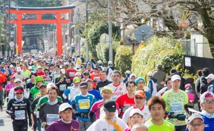 超九成中国跑者退出京都马拉松,只有28人参加比赛