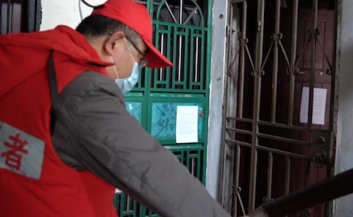 视频 上海战疫守门人:一口气爬55楼是什么样的体验