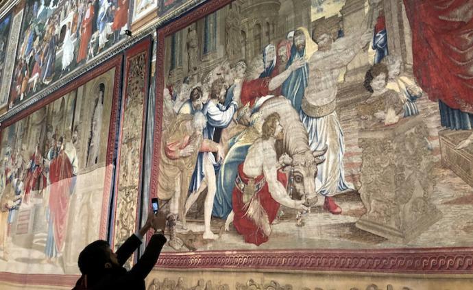 拉斐爾逝世500周年,十幅宏偉壁毯畫重返西斯廷教堂展出