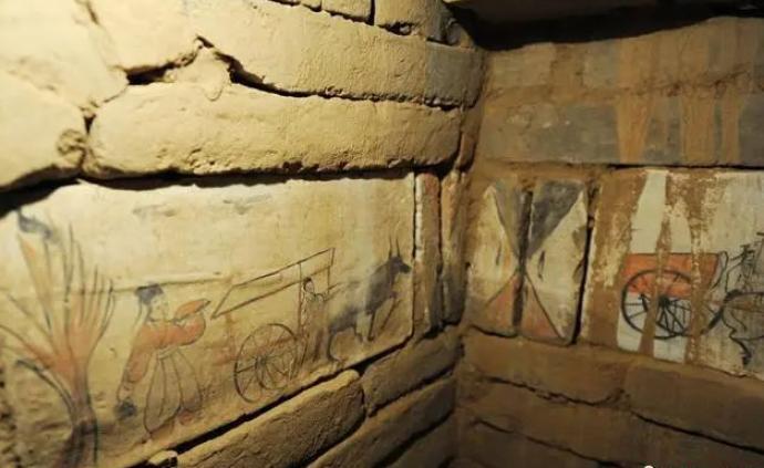 """古墓壁畫以后有望原址保存,""""墓葬壁畫原位保護""""立項公示"""