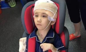 男童遭继母施暴75%颅骨缺损:其生父失联一个月,警方调查