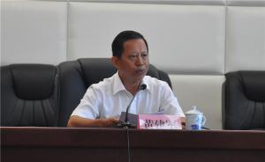 黄建军任江西宜春经开区党工委书记,不再担任市政府副巡视员
