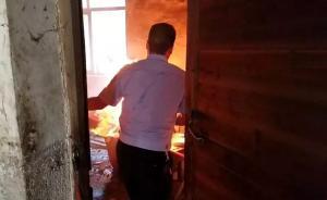 暖闻丨对话江西玉山救火民警:得知还有两满罐煤气有点后怕