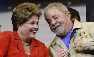 """巴西前总统卢拉和罗塞夫被控""""组团腐败""""收4.8亿美元贿赂"""