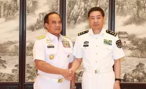 沈金龙会见印尼海军参谋长:希望在双边及多边场合加强沟通