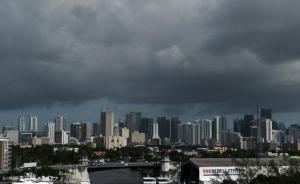 """飓风""""艾尔玛""""登陆美国带来龙卷风,至少32人抢商铺被捕"""