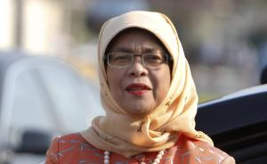 """新加坡将有首位女总统:出身贫寒住组屋,""""自动当选""""引争议"""