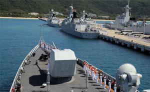 海军174舰艇编队远征近百天后凯旋,海军副政委刘训言迎接