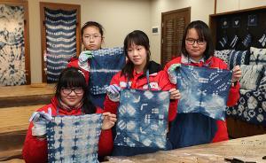 黄道婆的纺线技艺在中学生手中传承