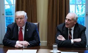 """特朗普发推怒怼""""白宫幕僚长要辞职""""是假消息:他会干满7年"""