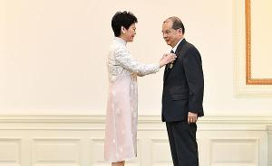 香港特首向331人授勋嘉奖,12人获颁大紫荆勋章