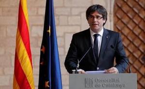 西班牙全球通缉加泰罗尼亚自治区前主席