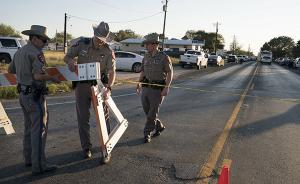 26岁白人男子制造得州教堂血腥枪案,事发小镇7%人口遇难