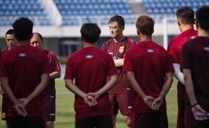 国奥男足赴德参加地区联赛,孙继海要求队员每天写训练总结