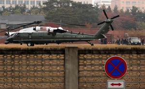 特朗普亚太行|秘访朝韩非军事区未果:距板门店一步之遥折返