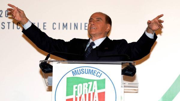 区域选举获胜:贝卢斯科尼重返意政坛