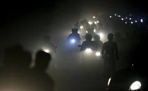 PM2.5一度超过1000微克,新德里已进入紧急状态