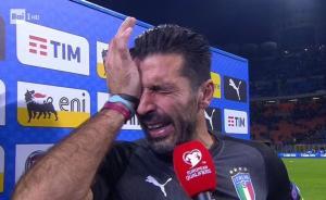 悲剧!意大利60年后再度无缘世界杯,布冯流泪退出国家队