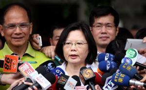 """蔡英文就台湾大停电道歉,""""行政院""""发言人:不考虑重启核电"""