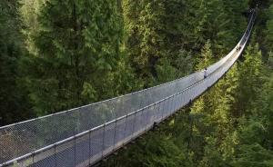 瑞士开放全球最长高空吊桥,张家界玻璃桥屈居第二